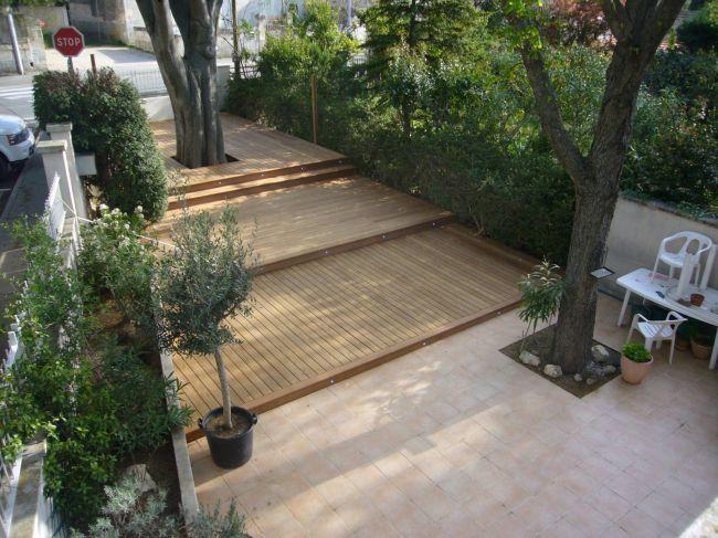 Pose DUne Terrasse En Bois Exotique Bouches Du Rhone Aix En